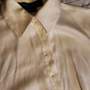 Guess by Marciano Tops - GUESS by Marciano Los angels  96% silk shirt. S